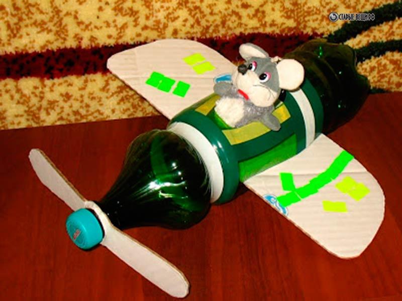 Игрушки из бутылочек своими руками