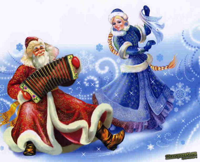 pobedpix.com / Плакат Новый год 2014
